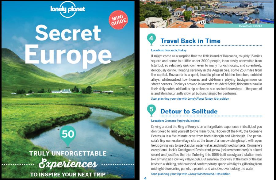 Secret Europe Top 50