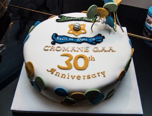 Cromane GAA Social – 30 Years Celebration