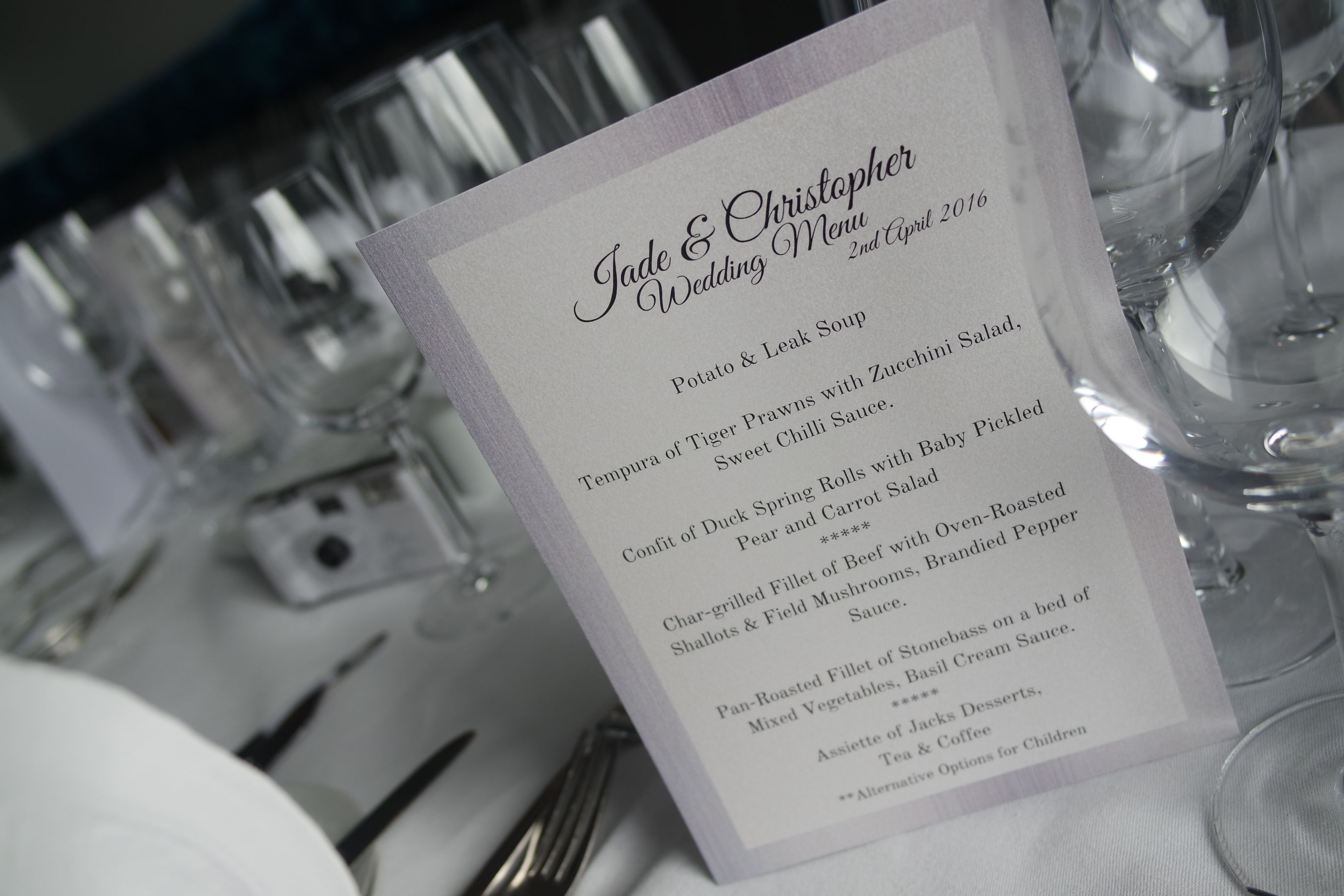 Wedding Reception Jacks Coastguard Restaurant