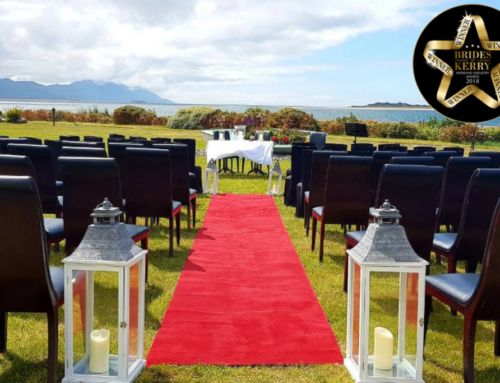 Winner of Brides of Kerry's Alternative Wedding Venue 2018