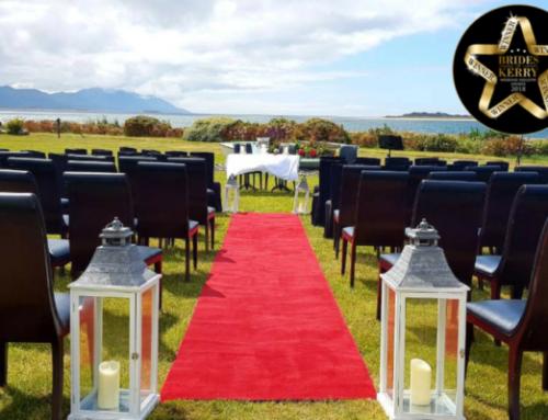 Winner of Brides of Kerry's Alternative Wedding Venue 2018