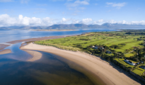 Dooks Golf Club Kerry Arial